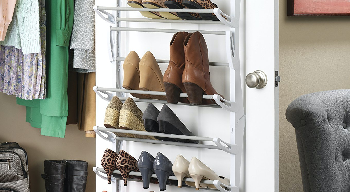 The 6 Best Shoe Racks For Closets