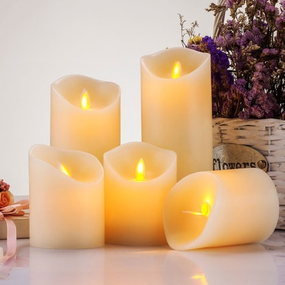Pandaing Realistic Flickering LED Candles