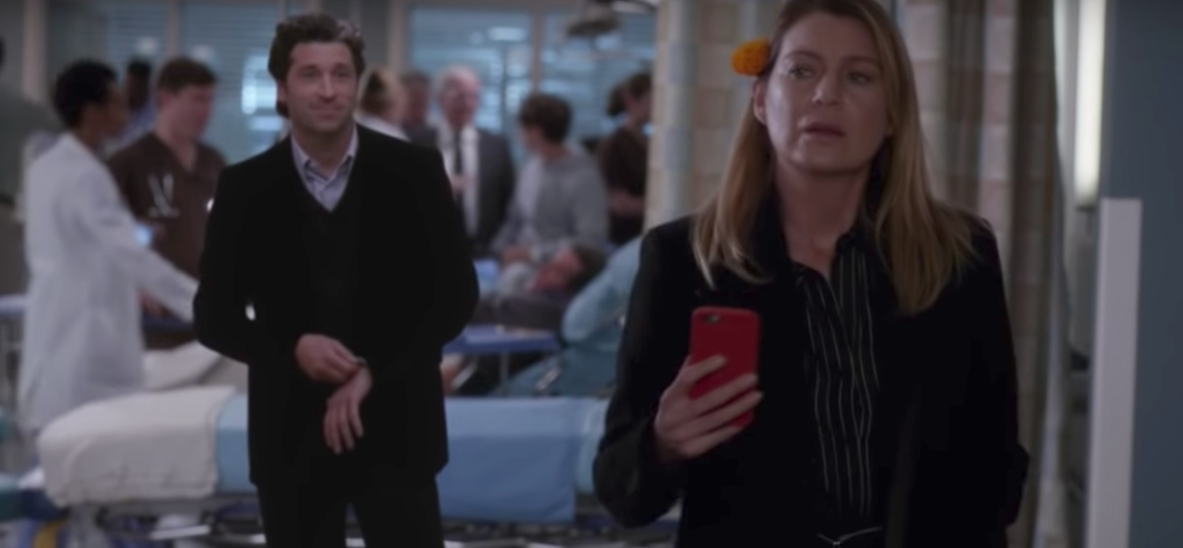 Anatomy Of A Love Seen En Español how did the 'grey's anatomy' characters return for the day