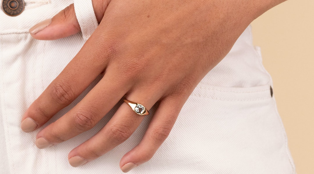 40d418ce098 13 Affordable Engagement Rings Under  500 That Are So Stunning