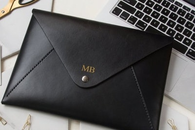 HarLex Personalized Leather MacBook 12 Inch Sleeve