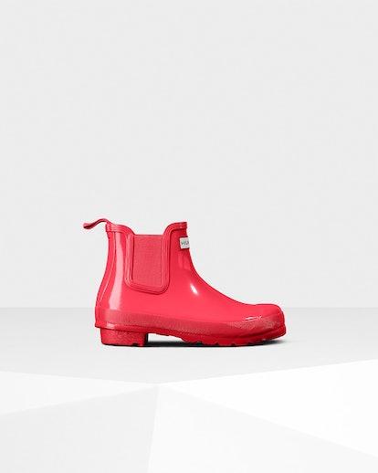 Women's Original Gloss Chelsea Boots: Hyper Pink