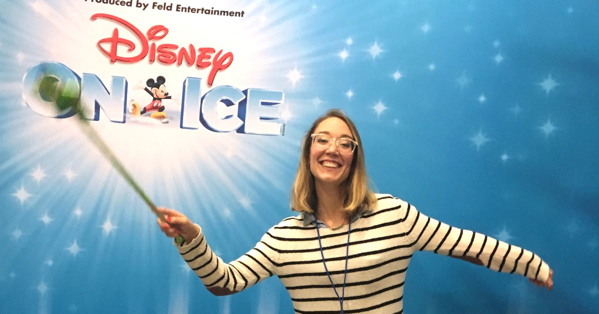 I Tried Being A Disney Ice Princess, Which Is Harder Than It Looks