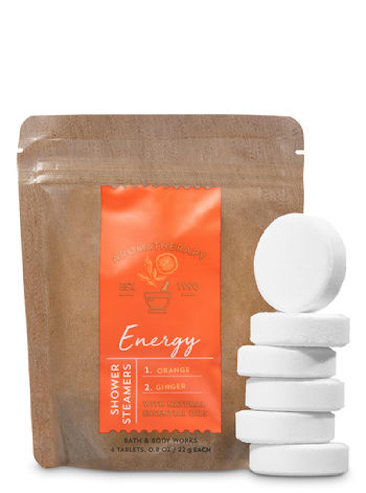 Energy Orange & Ginger In-Shower Steamers