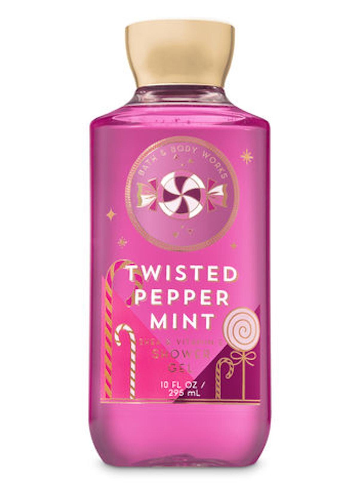 Twisted Peppermint Shower Gel