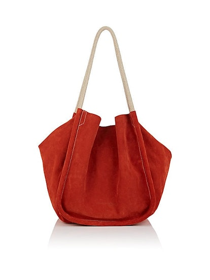 Extra Large Suede Tote Bag