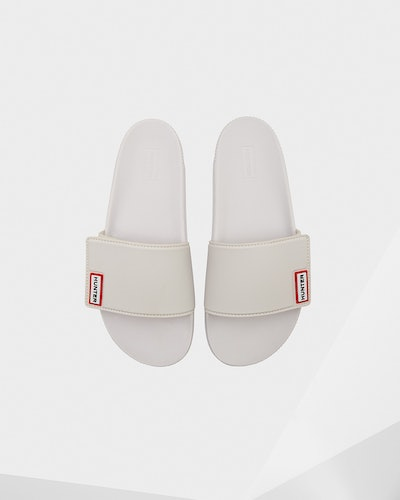 Women's Original Adjustable Slides: White