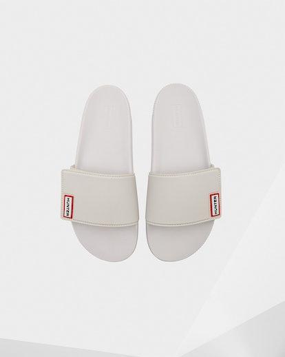 Women's Original Adjustable Slides: White