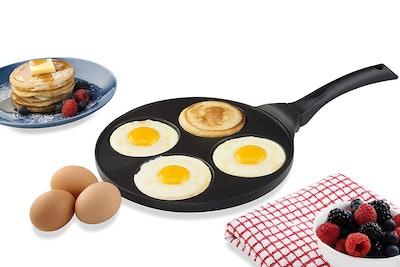 Gourmia Four-Mold Blini Pan