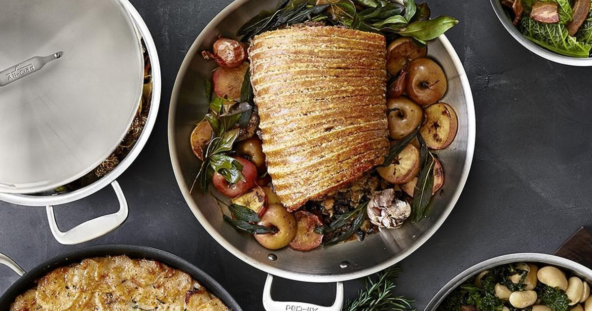 Williams Sonoma's Black Friday Sale Has A Huge All-Clad Set For 36 Percent Off, Among Other Deals