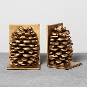 Decorative Bookend Pinecone