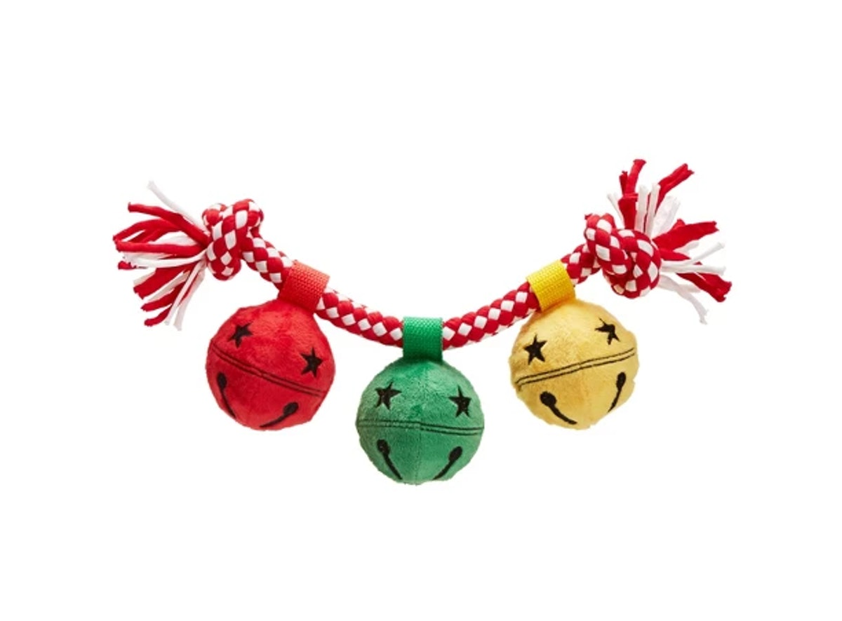 BARK Christmas Bells Dog Toy - Jinglin' Bells