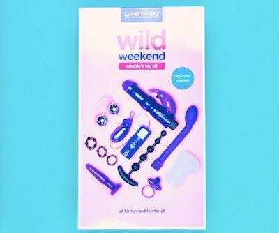 Lovehoney Wild Weekend Mega Couple's Sex Toy Kit (11 Piece)