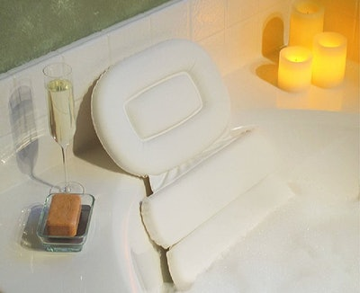 Stock Your Home Luxury Spa Bath Pillow