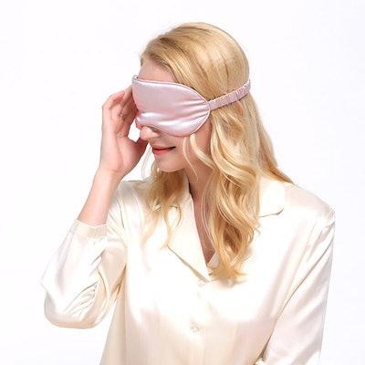 LULUSILK Mulberry Silk Eye Mask