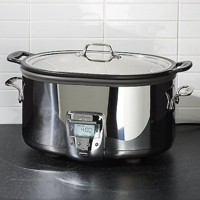 All-Clad 7-Quart Deluxe Slow Cooker with Aluminum Insert
