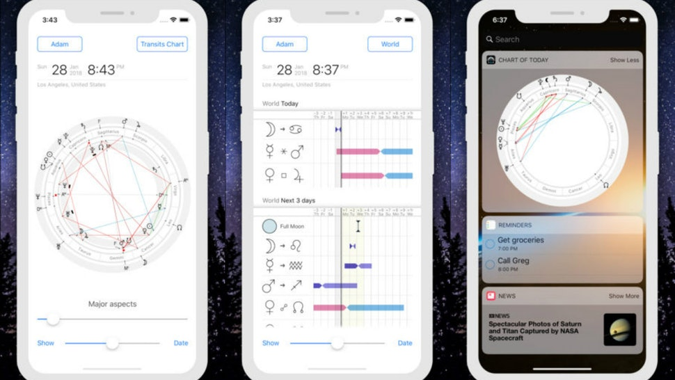 5 Astrology Apps To Read Your Birth Chart On That Will Help You Learn More About Zodiac Sign