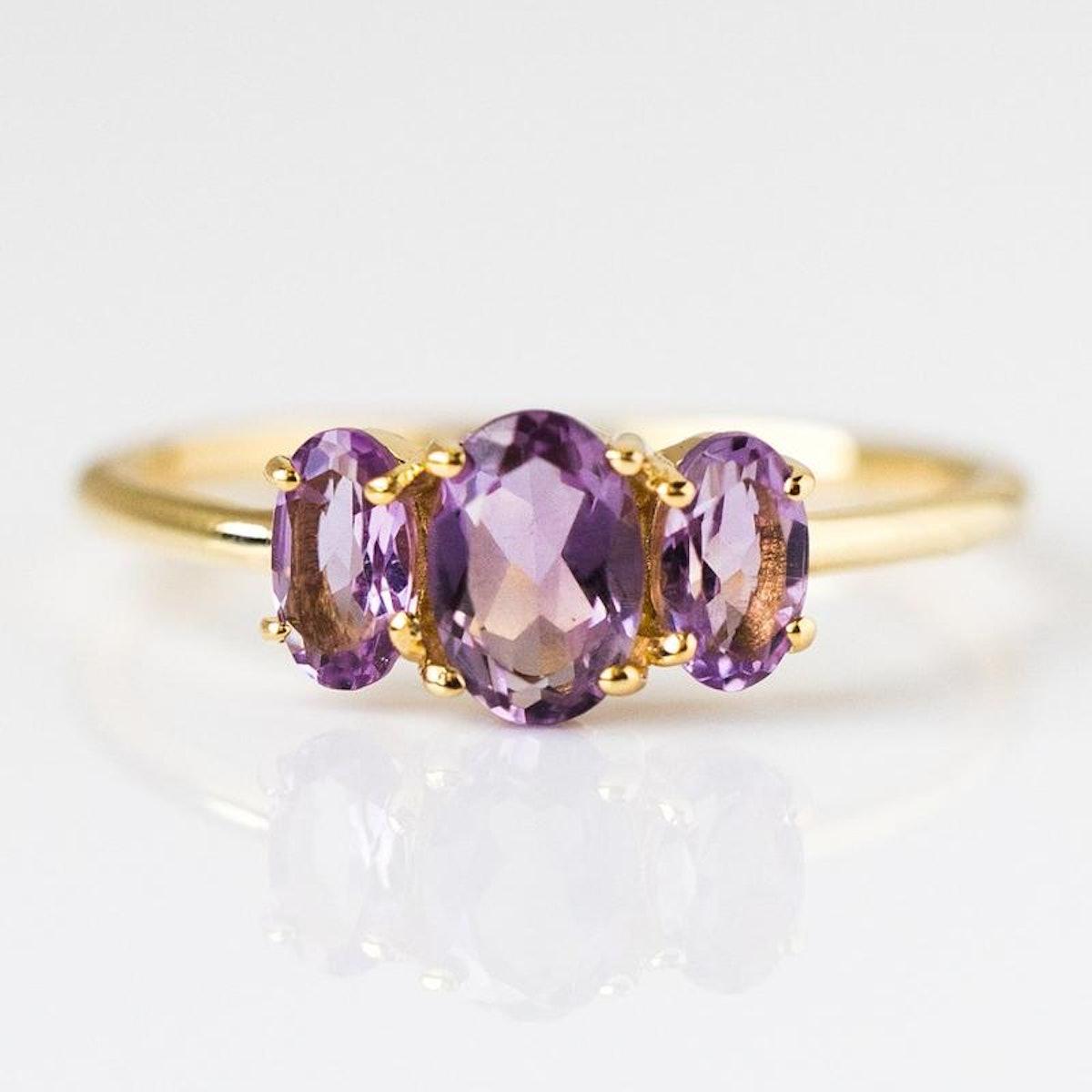 Amethyst Bijou Ring