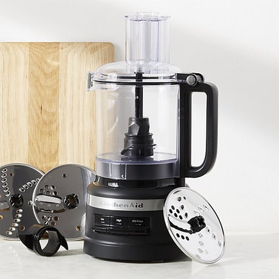 KitchenAid Matte Black 9-Cup Food Processor Plus