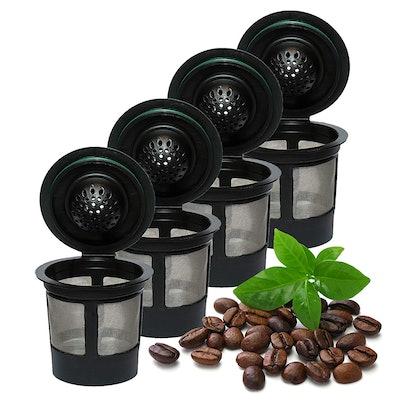 Resusable K-Cups For Keurig (4 Pack)
