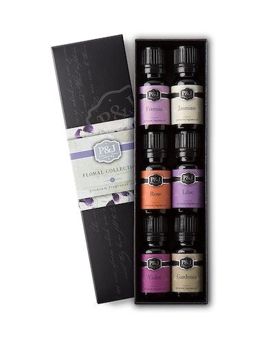 P&J Trading Floral Fragrance Oils Set