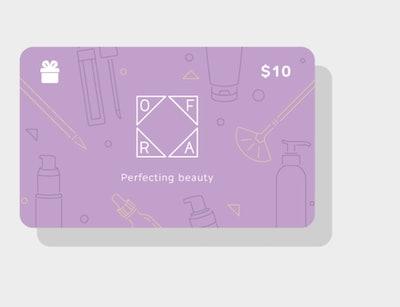 $10 OFRA E-Gift Card
