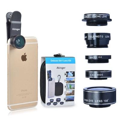 Akinger HD Camera Lens Kit
