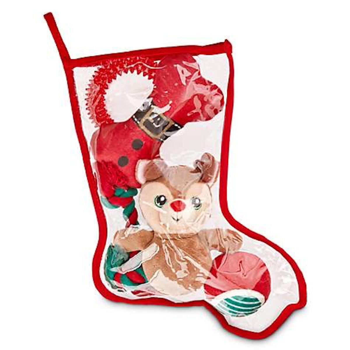 Holiday Tails Nice List Stocking Stuffers Dog Toy Gift Set
