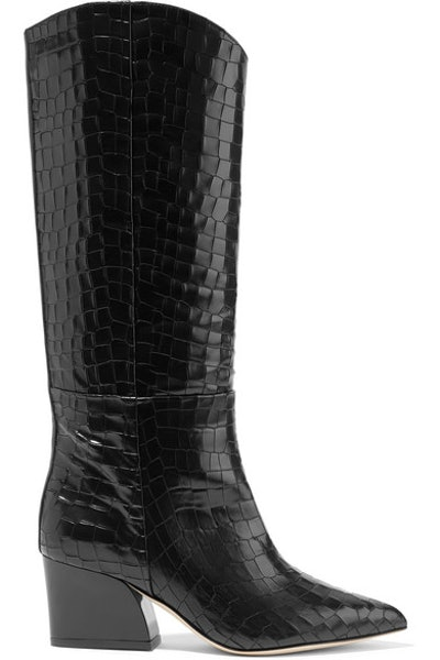 Logan Croc-Effect Boot