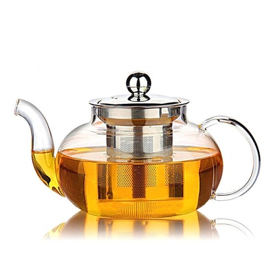 Hiware Glass Infuser Teapot