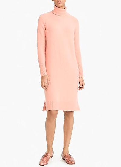 Turtleneck Dress in Supersoft Yarn