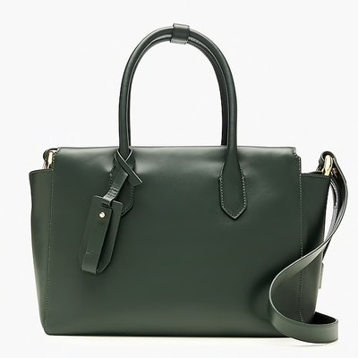 The Harper Satchel in Italian Leather