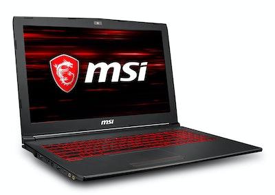 MSI GV62 15.6-inch Gaming Laptop, NVIDIA GeForce GTX 1060 3G