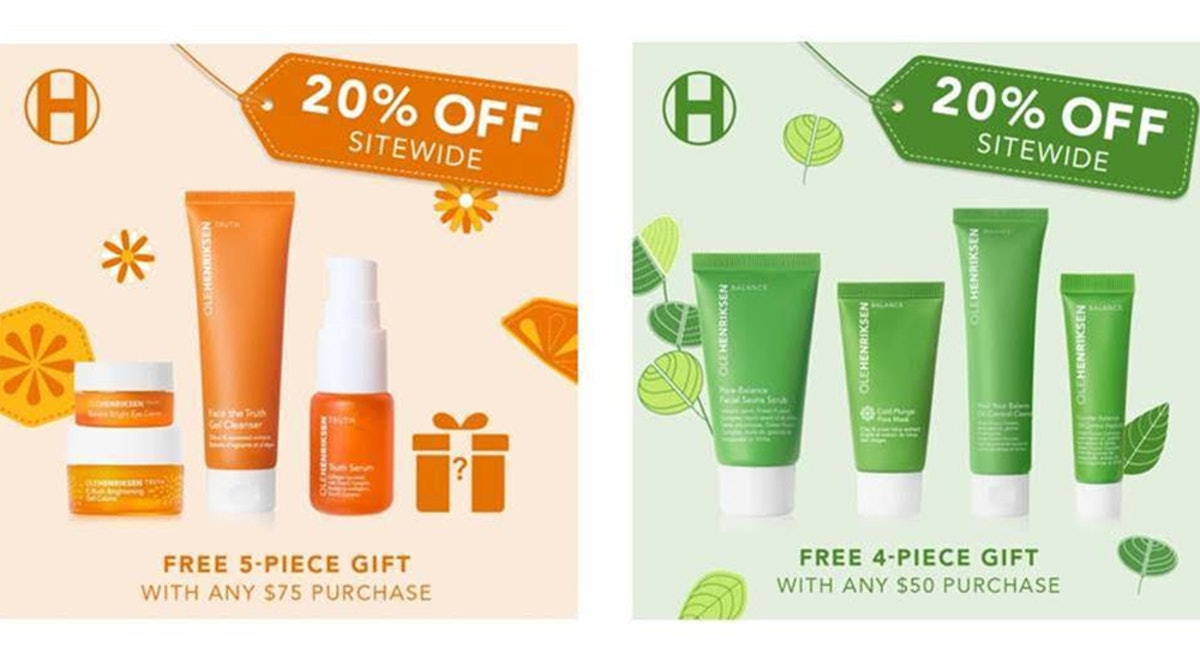 Ole Henriksen's Black Friday & Cyber Monday 2018 Sales Feature A Huge Sitewide Discount & More