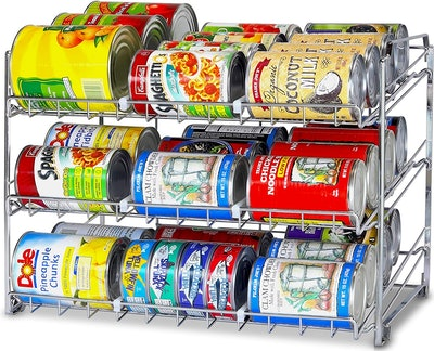 Simple Housewares Stackable Can Rack Organizer
