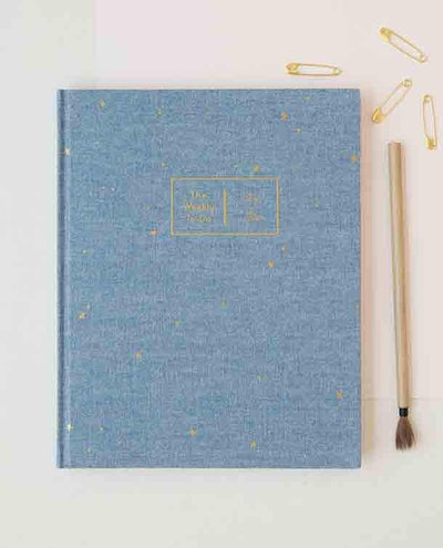 The Chambray Foiled Scattered Star Planner