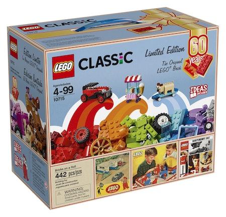 Lego Classic Bricks On A Roll - 60th Anniversary Limited Edition