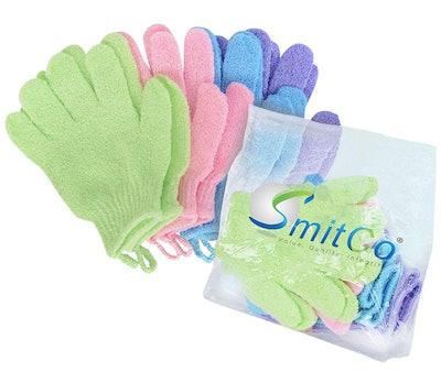 Smitco Exfoliating Gloves (4 Pairs)