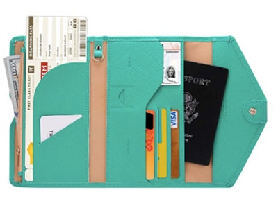 Zoppen RFID-Blocking Passport Wallet