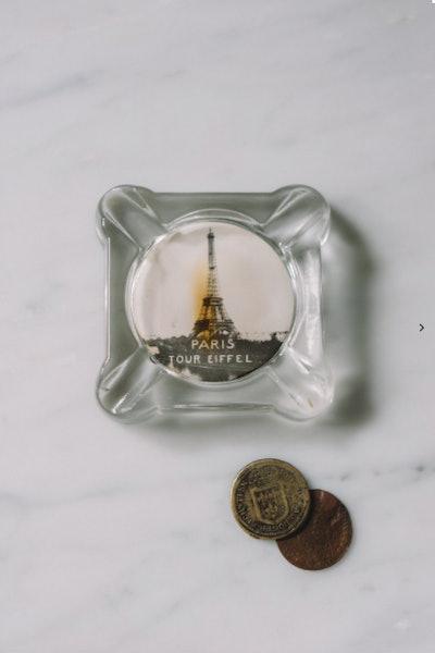 1940s Paris Eiffel Tower Ashtray