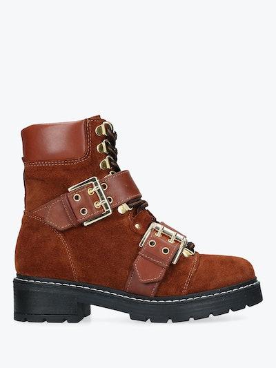 Carvela Saunter Buckle Ankle Boots