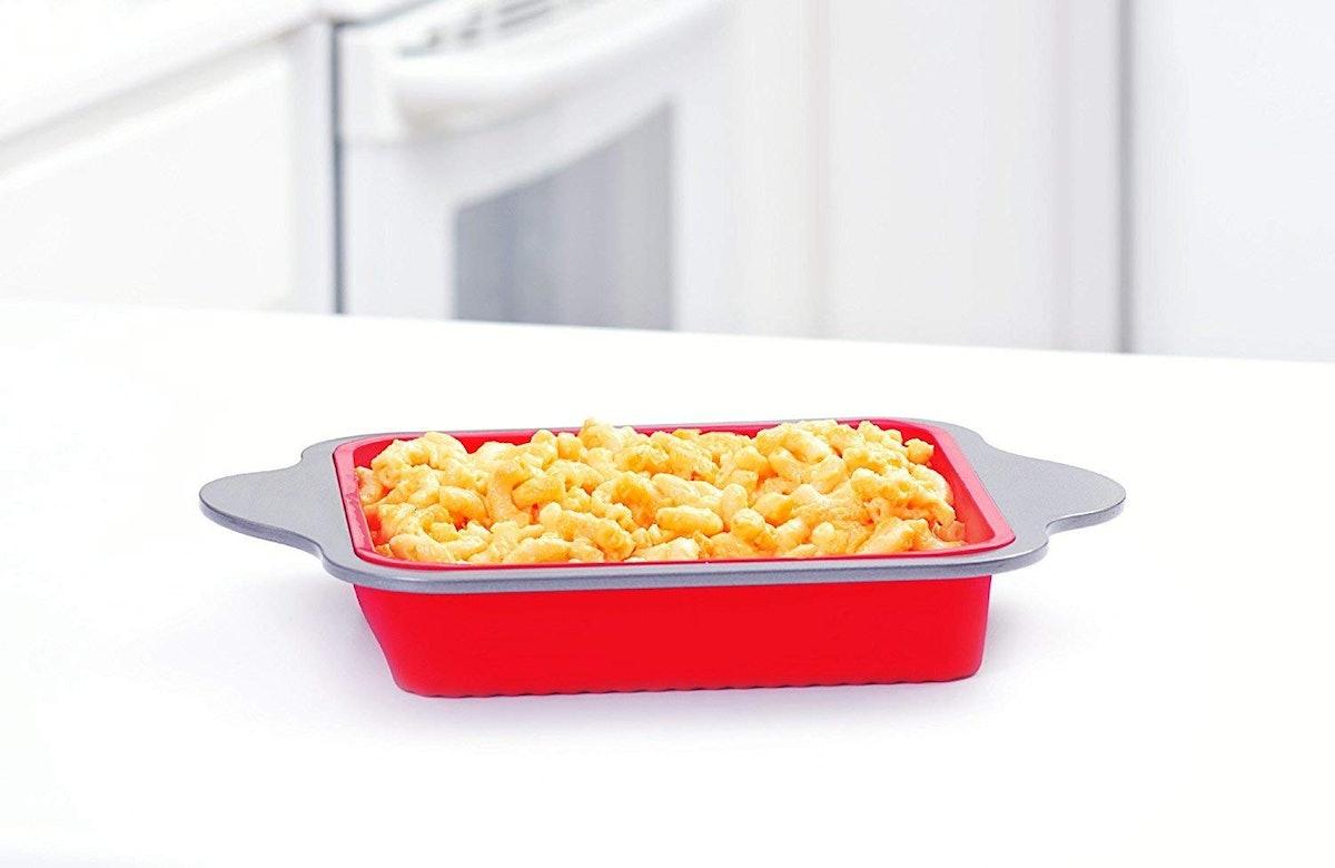 Boxiki Kitchen Silicone Brownie Pan