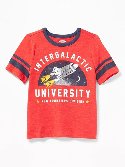 Football-Style Tee For Toddlers