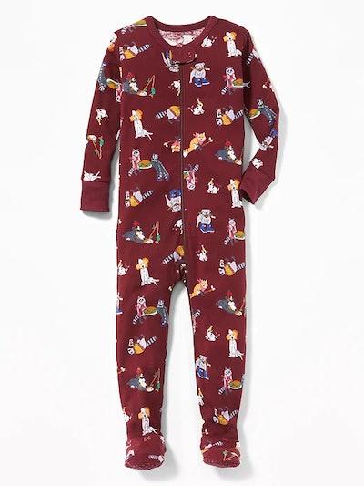Dog Print Pajamas