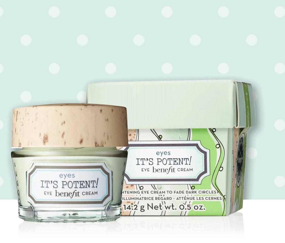 it's potent! dark circle eye cream