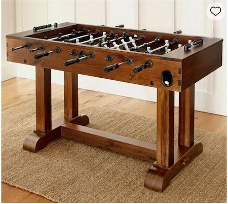 Rustic Mahogany Foosball Table