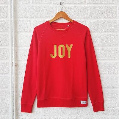 Joy Red Sweatshirt