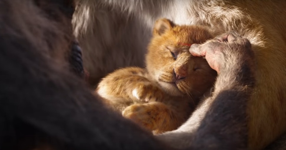 The Live Action Lion King Trailer Recreates A Iconic Moment From