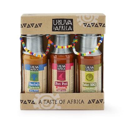 African Sauce Trio