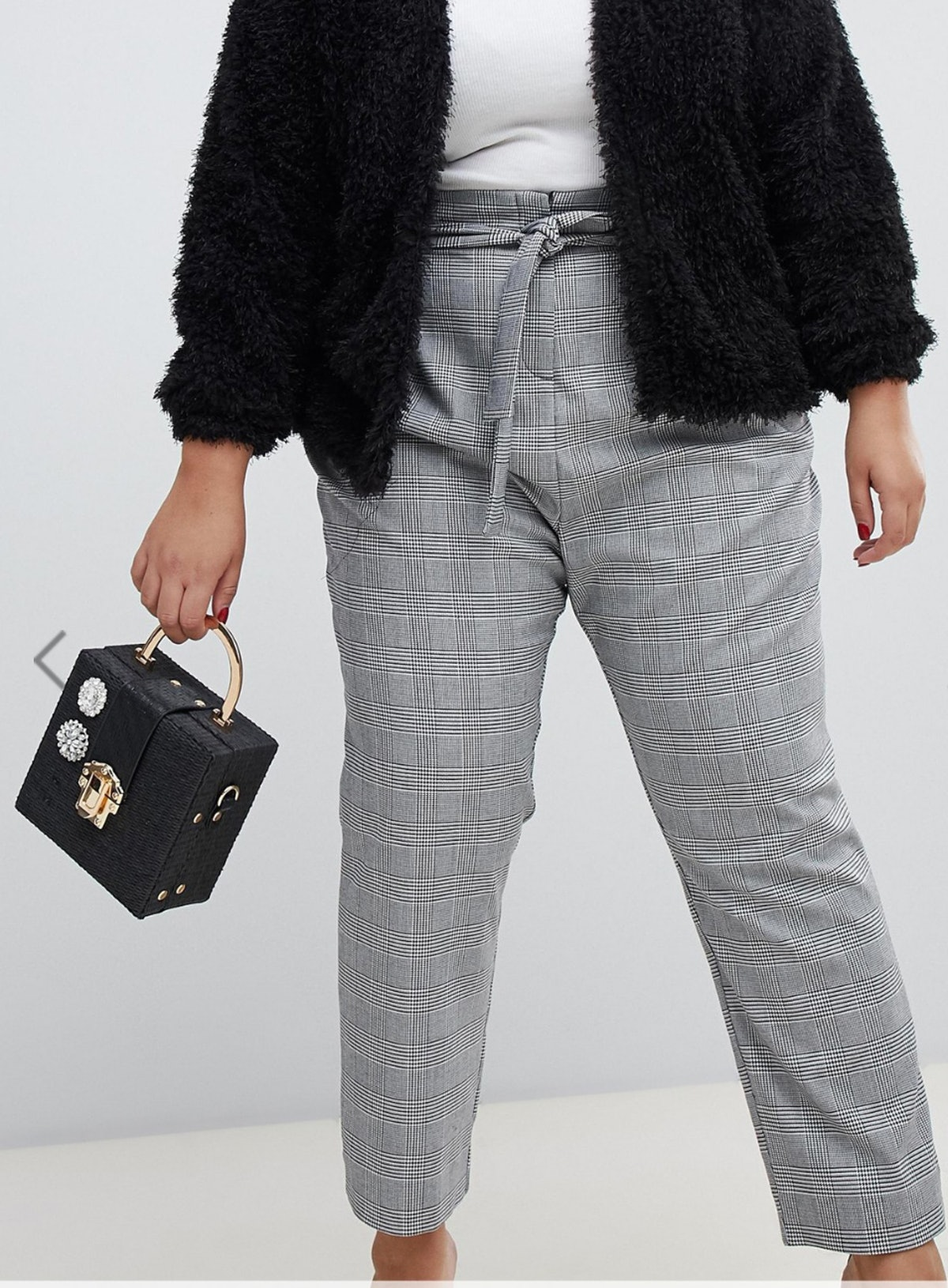 River Island Plus Tapered Pants